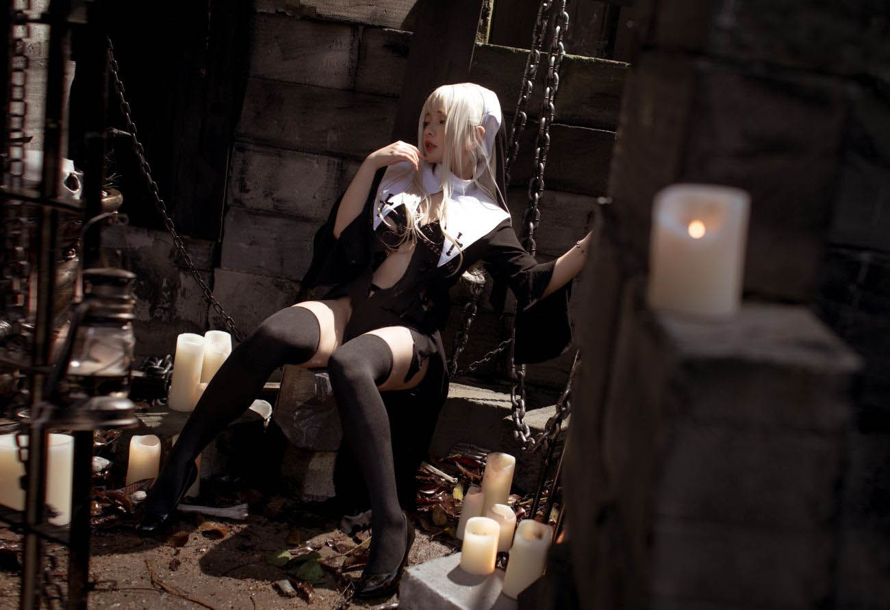 监狱之美 修女 NinJA阿寨寨 贖罪修女