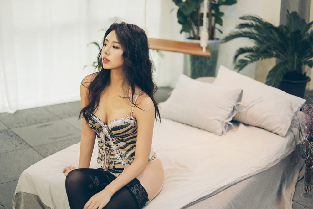 韩国美女,看起来就壮实,你喜欢吗