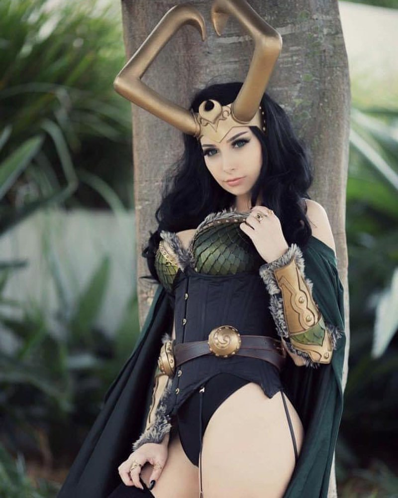 美女cosplay 看看美女扮演了哪个角色 第一期